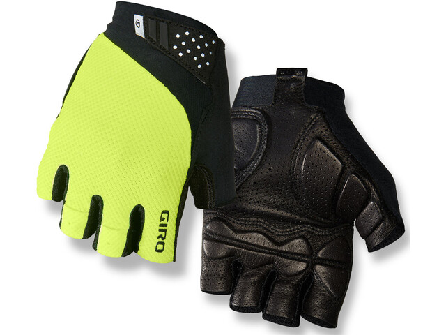 Giro Monaco II Gel Guantes Hombre, highlight yellow